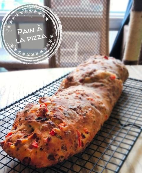 Pain à la pizza - Auboutdelalangue.com