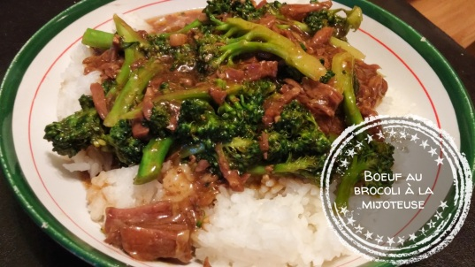 Boeuf au brocoli à la mijoteuse - Auboutdelalangue.com