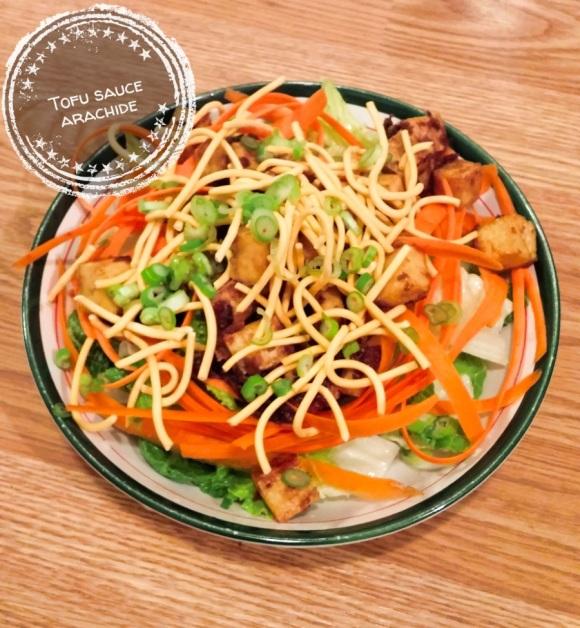 Tofu sauce arachide - Auboutdelalangue.com